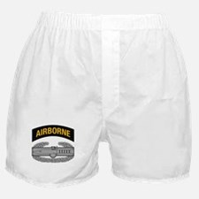 CAB w Airborne Tab - Gold Boxer Shorts