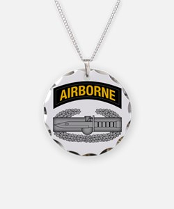 CAB w Airborne Tab - Gold Necklace