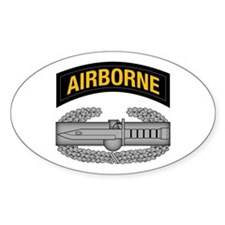 CAB w Airborne Tab - Gold Decal