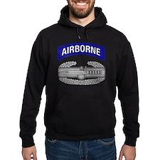 CAB w Airborne Tab - Blue Hoodie