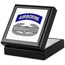 CAB w Airborne Tab - Blue Keepsake Box
