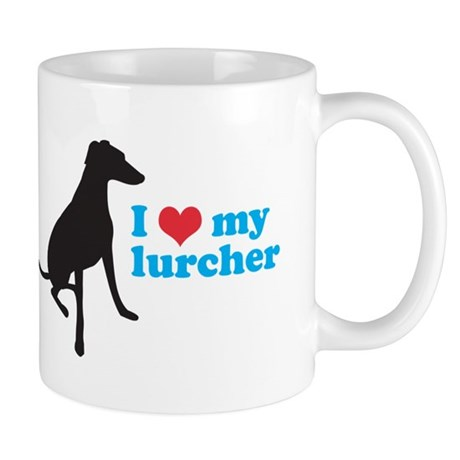 I Love My Lurcher Mug