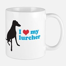 I Love My Lurcher Small Small Mug