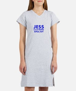 JESS (Large Lettering) Women's Nightshirt