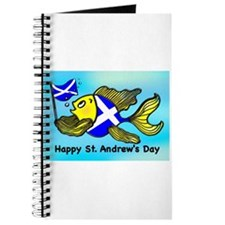 Happy St. Andrews Day Journal