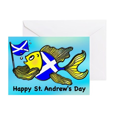 Happy St. Andrews Day Greeting Cards (Pk of 10)