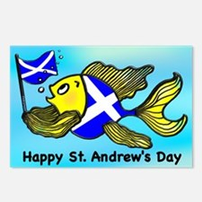 Happy St. Andrews Day Postcards (Package of 8)