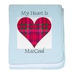Heart - MacCoul baby blanket