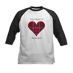 Heart - MacCoul Kids Baseball Jersey