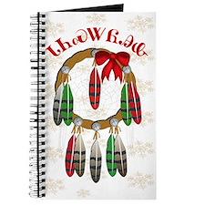 Cherokee Christmas Dream Catcher Journal