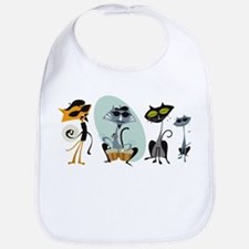 Cool Cats and Kits Bib