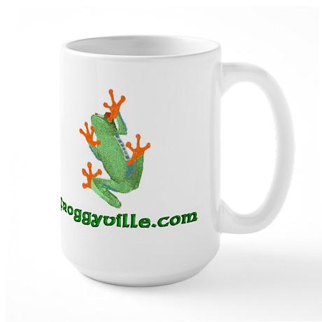 Froggyville Large Mug