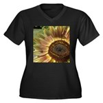 Beautiful Day Sunflower Women's Plus Size V-Neck D