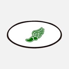 Green Winged Track Foot Patches