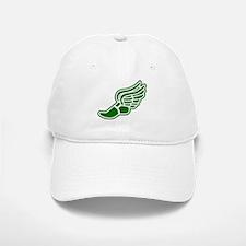 Green Winged Track Foot Baseball Baseball Cap