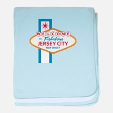 Welcome to Jersey CIty baby blanket