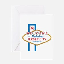 Welcome to Jersey CIty Greeting Card