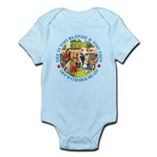 She is Too Blonde Infant Bodysuit