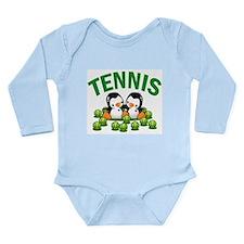 Cute Penguin Long Sleeve Infant Bodysuit