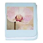 Pink Orchid Petal baby blanket