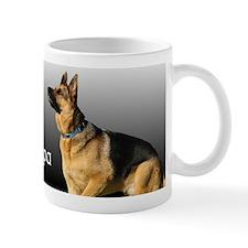 I heart My Papa GSD Mug