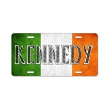 Kennedy Shield Aluminum License Plate