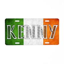 Kenny Shield Aluminum License Plate