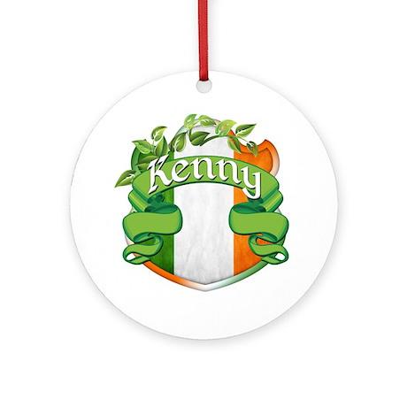 Kenny Shield Ornament (Round)
