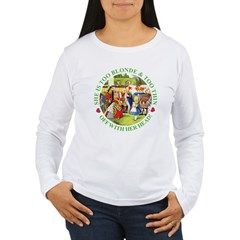 Who Let Blondie In? T-Shirt