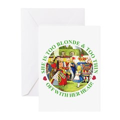 Who Let Blondie In? Greeting Cards (Pk of 10)