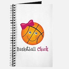 Pink Basketball Chick Journal