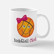 Pink Basketball Chick Mug