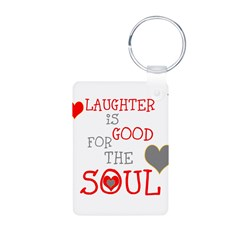 OYOOS Laughter Good for the Soul Keychains
