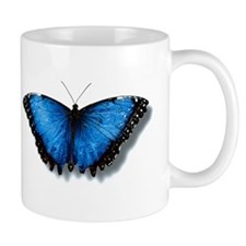 Coffe Mug Butterfly Design
