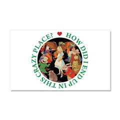 In This Crazy Place Car Magnet 20 x 12