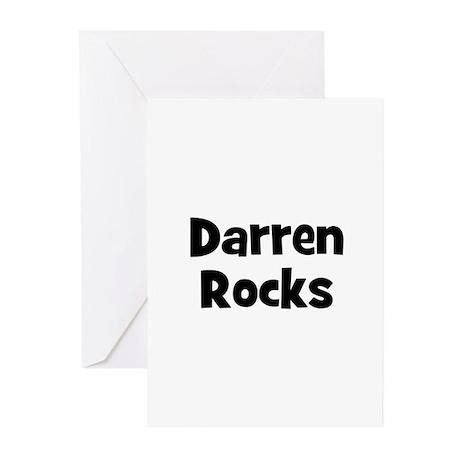 Darren Rocks Greeting Cards (Pk of 10)