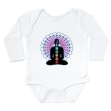 Chakras Long Sleeve Infant Bodysuit