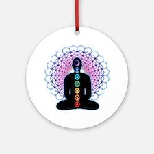 Chakras Ornament (Round)