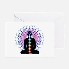 Chakras Greeting Cards (Pk of 10)