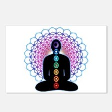 Chakras Postcards (Package of 8)