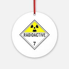Radioactive DOT 7 Ornament (Round)