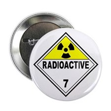 "Radioactive DOT 7 2.25"" Button"