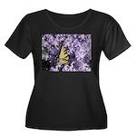 Swallowtail Phlox Women's Plus Size Scoop Neck Dar