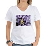 Swallowtail Phlox Women's V-Neck T-Shirt