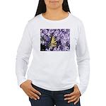 Swallowtail Phlox Women's Long Sleeve T-Shirt