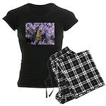 Swallowtail Phlox Women's Dark Pajamas