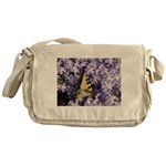 Swallowtail Phlox Messenger Bag