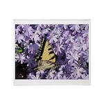 Swallowtail Phlox Throw Blanket