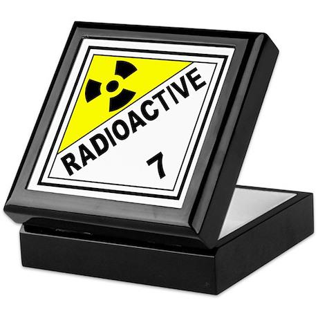 Radioactive DOT 7 Keepsake Box
