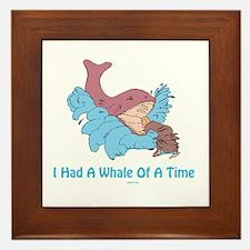 Whale of a Time Jonah Framed Tile
